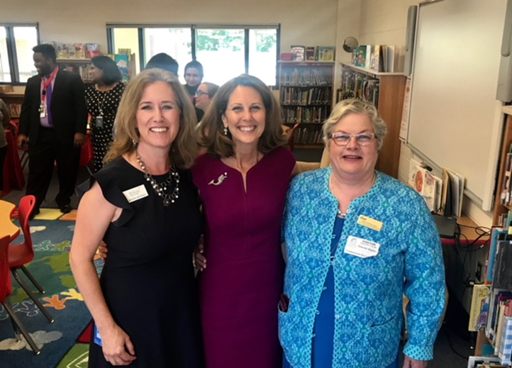 GMU TTAC Early Childhood Coordinator, Deborah Stepien, was invited to attend a round table discussion in Prince William on September 5 with First Lady of Virginia, Pamela Northam